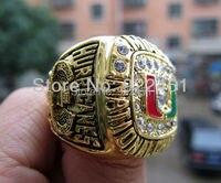 Free Shipping 1991 Miami Hurricanes National Championship Ring