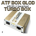 2015 новейшие Заранее Tubro Коробка atf box atf gold box atf limited edition box с активацией SL1 SL2 SL3 JTAG EMMC Без кабель