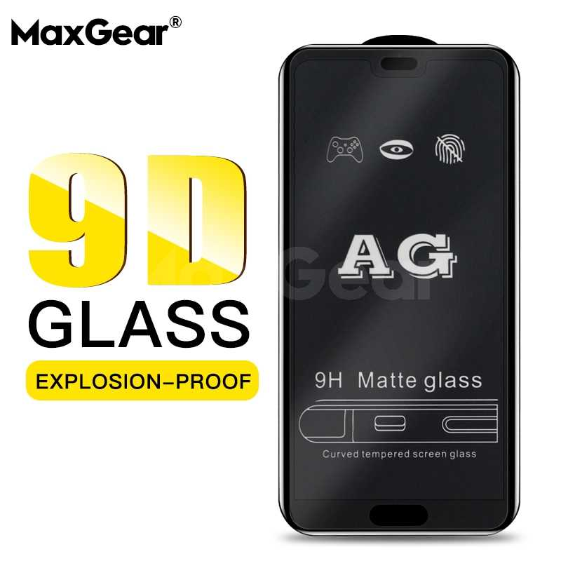 Matte Tempered Glass for Huawei Honor 8X 8A 10 Lite Play Frosted Screen Protector For Mate 20 10 Y7 Pro Y9 2019 Shield Film
