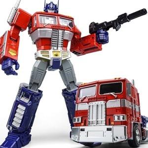 Image 4 - שינוי OP מפקד WJ MPP10 MP10 G1 סגסוגת פעולה איור רובוט רכב Oversize מעוות צעצועי ילדים מתנות