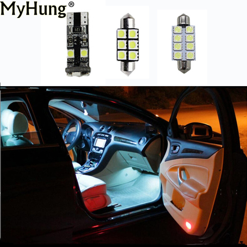 12pcs for ford mondeo mk4 mk iv led car led canbus interior light kit package car styling car. Black Bedroom Furniture Sets. Home Design Ideas