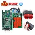 Ds de alta Calidad tcs cdp cdp 150 Bluetooth Doble Verde PCB 2014R2/2014.3 software Opcional coches camiones herramienta de diagnóstico