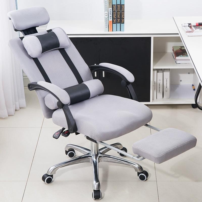 все цены на Boss Office Armchair Swivel Computer Chair Household Mesh Staff Chair Ergonomic Lift Chair Comfortable Seat With Footrest