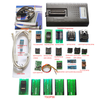 Original TNM5000 USB EPROM Programmer memory recorder+19pc adapters+IC Clip for vehicle electronic part/Laptop/Notebook repair