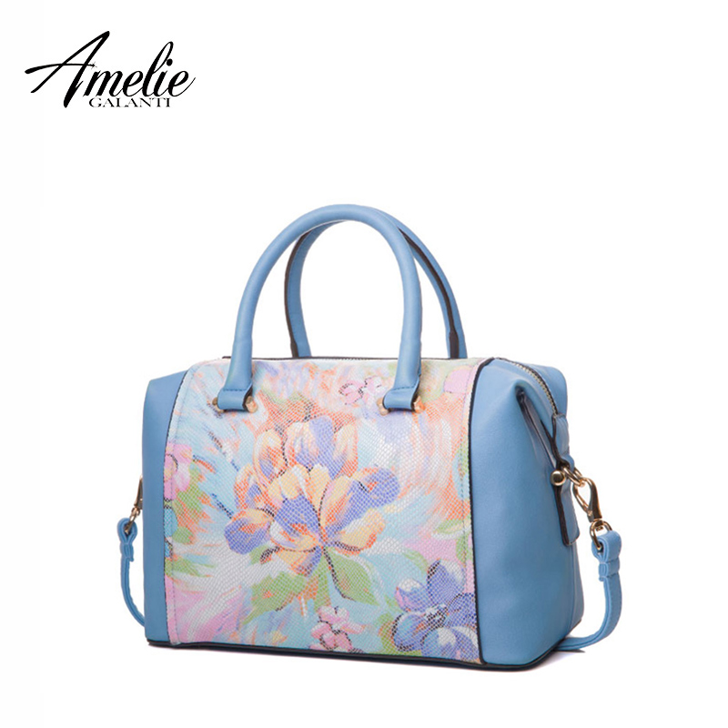 AMELIE GALANTI fashion women handbags casual tote high quality PU cross body bag