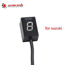 Buy Alconstar- Ecu Plug Mount 6 Speed 1-6 Level Gear Indicator Gear Meter Fit For Suzuki Motorcycle Plug Play EFI Engine directly from merchant!