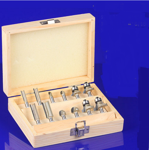 цена на 12pcs set HQ CNC Carbide Diameter Hinge Boring Drill Bit Woodworkers Wood Hole Saw Cutter bits