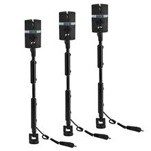 3pcs Adjustable Flash Hard Rod Rocker Swinger 7 Colors Indicator Fishing Tackle