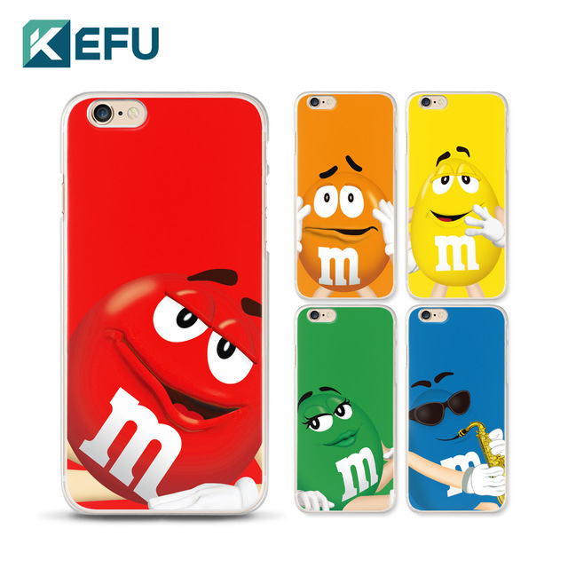 For coque iPhone 5S case 5 5S 6 6S Plus Cute M M hard plastic PC 640x640