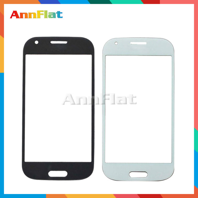 "50pcs/lot High Quality 4.3"" For Samsung Galaxy Ace 4 G357 SM-G357FZ Replacement Touch Panel Glass Front Glass Lens White Black"
