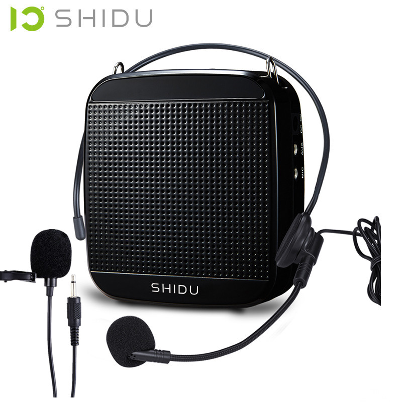 18 Watts High Power Headset Microphone Tour Guide SHIDU SD-S512 kožne rukavice bez prstiju