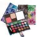 Nu Sombra Maquiagem 22 Cores Matte EyeShadow Palette Nu & Pressionado Pó Maquiagem Conjunto de Maquiagem Paleta de Sombra Com Blush