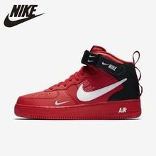 Nike Original Air Force 1 Men's Skateboarding Shoes Comfortable Non-slip Outdoor Sports Sneakers # 804609 цены онлайн