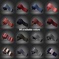 Homens praça da acessórios laços de malha homens 16 cores gravatas CBJ001