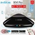 2017 broadlink rm pro rm03 universal controlador inteligente, automação residencial inteligente, wifi + ir + rf controle remoto para ios ipad android