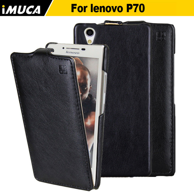 For Lenovo P70 Case Luxury Leather Flip Case Back Cover for Lenovo P70 Phone Cases Original iMUCA Case For Lenovo P70 P70-a P70t