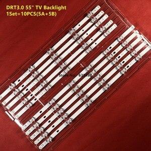 Image 5 - LED תאורה אחורית רצועת עבור 55LB650V 55LB561V 55LF6000 55LB6100 55LB582U 55LB650V 55LB629V 55LB570V 55LB5900 55LB5500 55LH575A