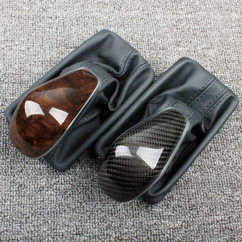 For AudiA6LC7PA S6 S7 A7 VW Passat B7 CC Carbon Fiber Gear Shift Knob 4G0 713