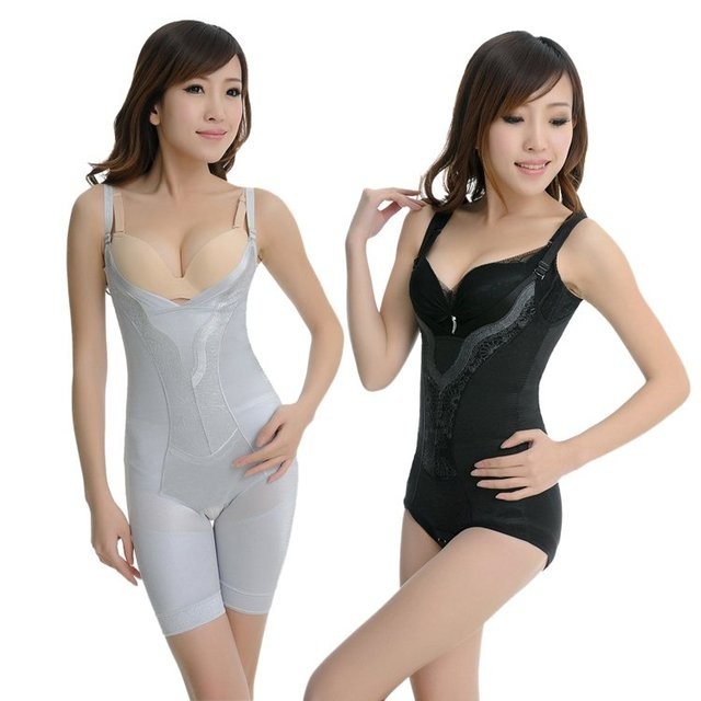 98124bb7ec907 Free Shipping Thin hot-selling fat burning superacids abdomen drawing slim  waist shaper body shaping underwear slimming V010