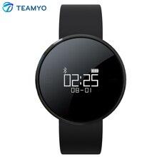 Teamyo UW1 Bluetooth Smart Браслет Спорт Смарт-браслет с сердечной активности фитнес-трекер для Android IOS Водонепроницаемый