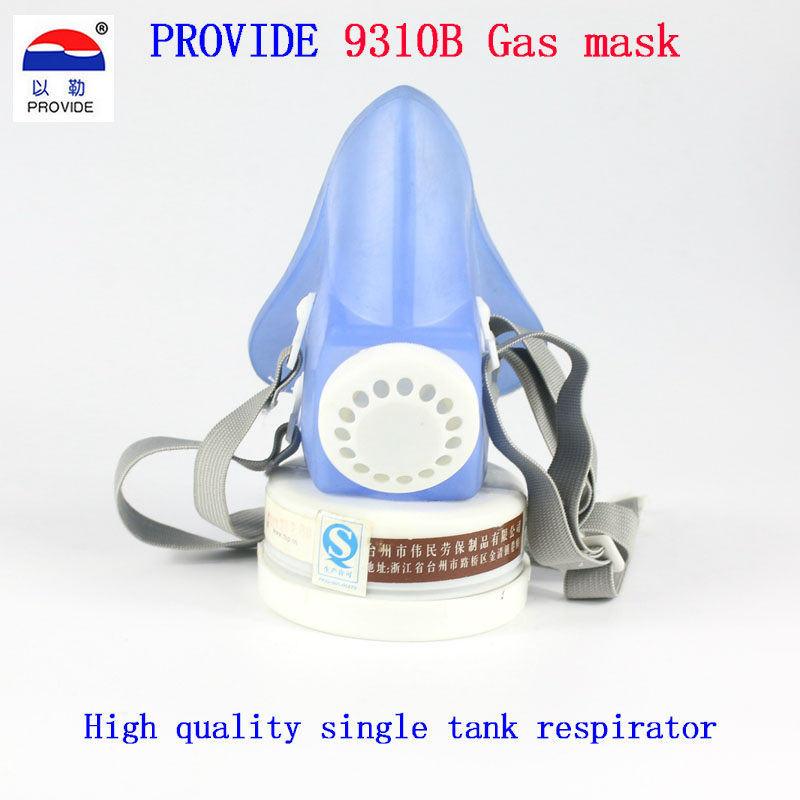 PROVIDE respirator gas mask Single cans Practical type chemical gas mask Organic gas Painting gas mask respirator 3m 6300 6003 half facepiece reusable respirator organic mask acid face mask organic vapor acid gas respirator lt091