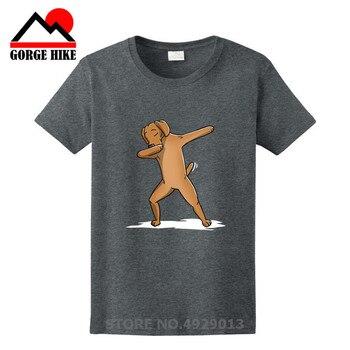 Amantes de los perros Camiseta con estampado personalizado Vizsla camisa oficial perro de la gente más fresca camiseta de los hombres divertida Dabbing Vizsla perro camiseta