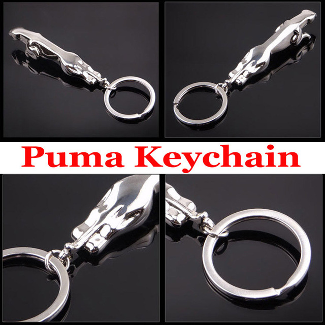 Mazda New Fashion For Puma Jaguar Car Key Chain Ring Keyring Keyfob 3d Auto  Keychain Metal Leopard Badge Logo Lover Gift de9161b52