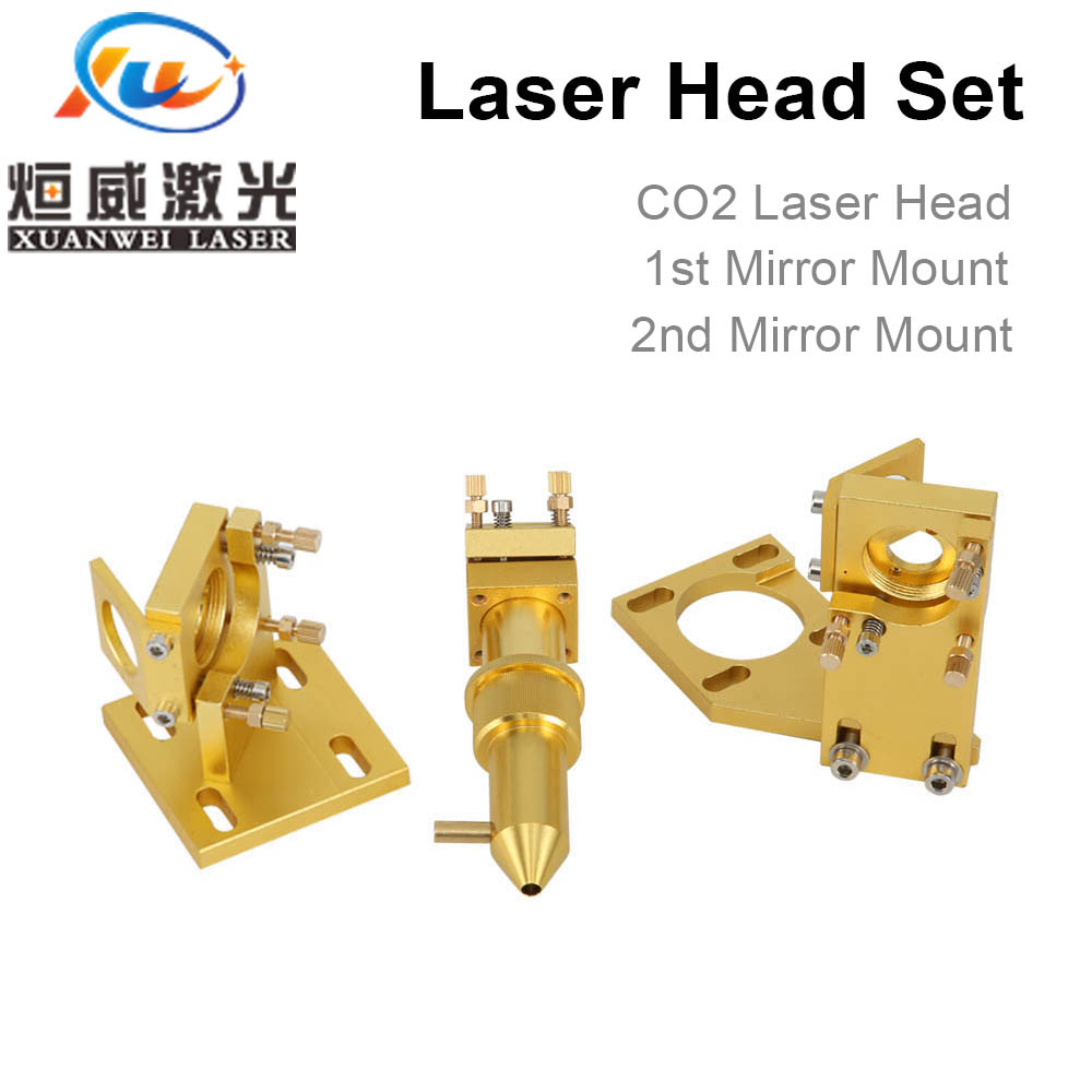 Co2 Laser Head Set for 2030 4060 K40 Laser Engraving Cutting Machine agents wanted Factory Sale