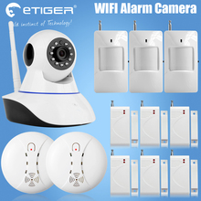 Etiger 720P Security Network WIFI IP camera Megapixel HD Wireless Digital Security camera IR Infrared Night