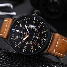 New Fashion Top Luxury Brand Naviforce Sports Watches Men Quartz Ultra Thin dial Clock Sports Military Watch Relogio masculino