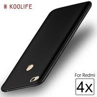 Case for Xiaomi Redmi 4X Case KOOLIFE Brand Phone Case for Xiaomi Redmi 4X Cases Hard PC Back Cover for Xiaomi Redmi4X Cover