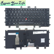 цена на Repair You Life Laptop Keyboard For Lenovo For Thinkpad Helix 2 20CH 20GH Gen 2 SP layout original and new with red pointing