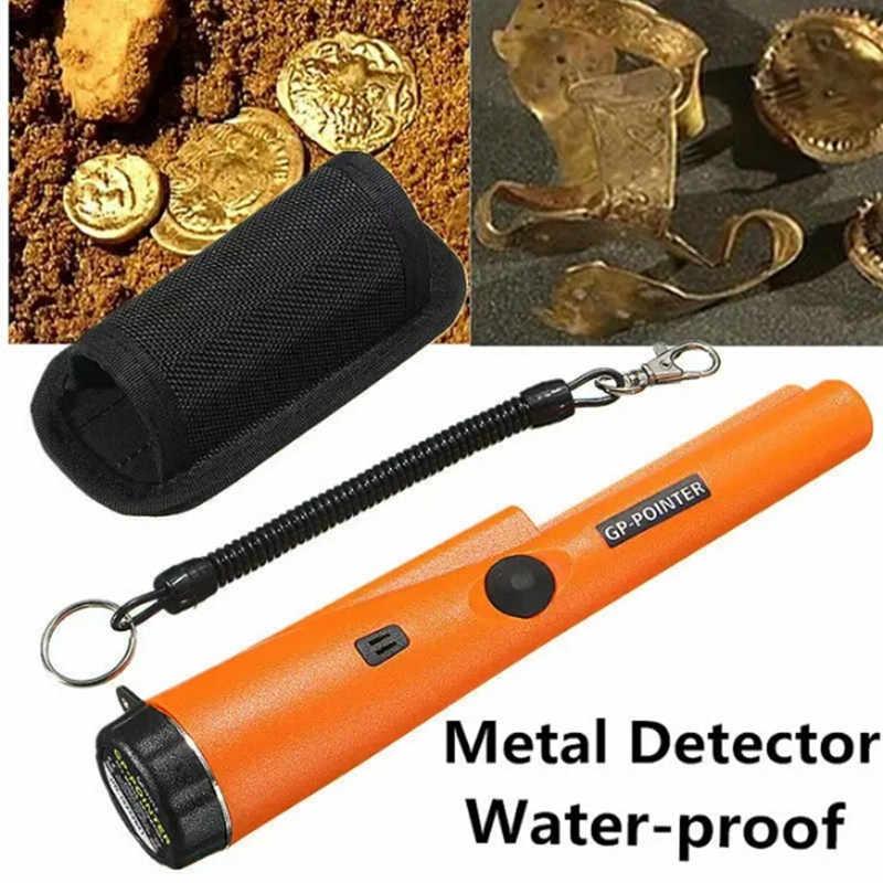 מקצועי מתכת גלאי GP מצביע מחתרת מתכת גלאי זהב אוצר Finder חיפוש צייד מטבע Pinpointer ניחוש