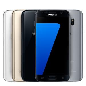 Image 3 - Samsung teléfono inteligente Galaxy S7 G930F/G930A/G930V, teléfono móvil libre con pantalla de 5,1 pulgadas, 32GB ROM, Quad Core, WIFI, GPS, cámara de 12MP, 4G LTE, reconocimiento de huella dactilar
