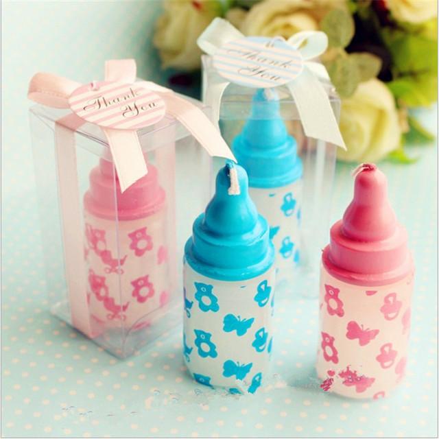 Mini Bottle Design Candle