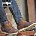 Pathfinder Genuína Sapatos De Couro Botas Hombre Homens Sapatos de Marca Original para Quatro Estações Casuais Martin Botas Homem Designer de Sapatos