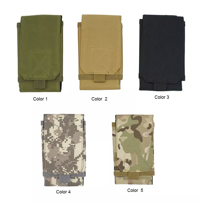 Outdoor Multi-purpose Tactical Bag Outdoor Sports Mobile Phone Pocket Waterproof Oxford Cloth Mini Mountaineering Bag