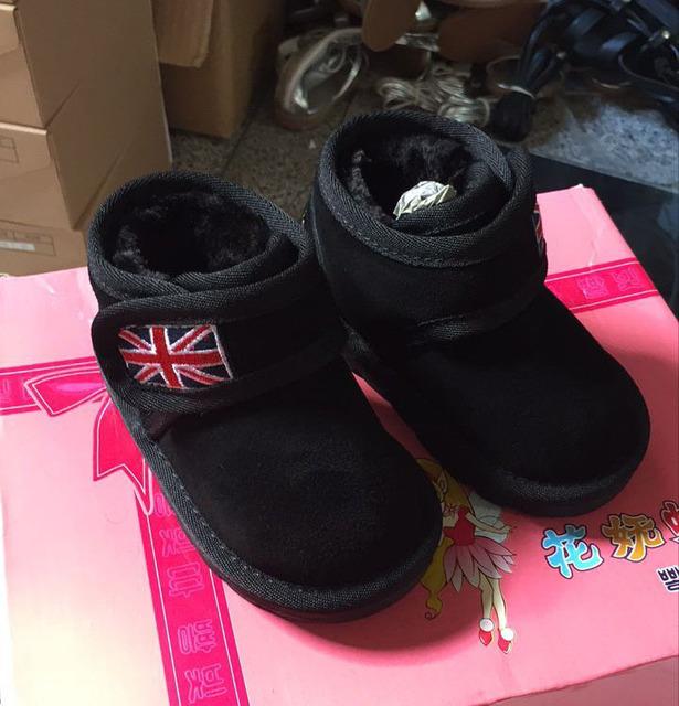 CCTWINS KIDS invierno camel botas de piel para niños de cuero genuino botas de bebé girls fashion shoes niños marca botas de nieve caliente rojo