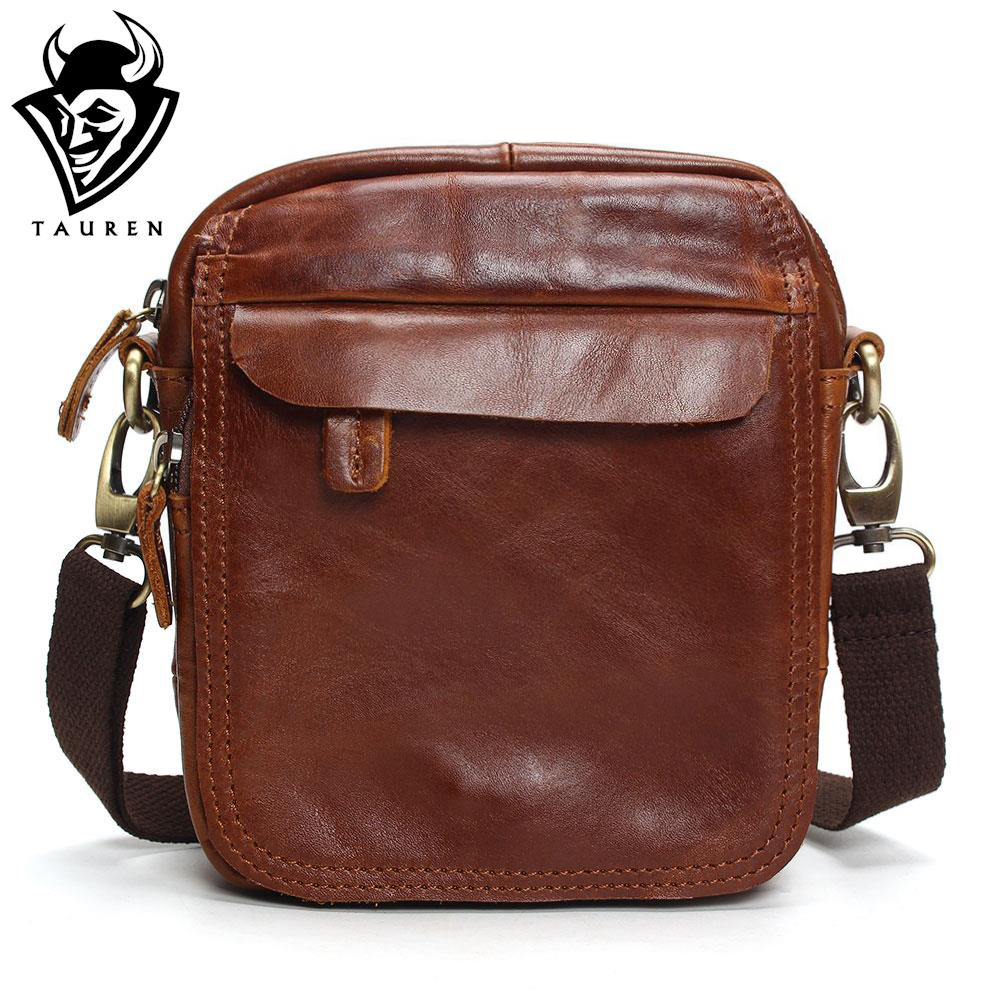 Vintage Cow Genuine Leather Messenger Bags Men Travel Business Crossbody Shoulder Bag For Man Sacoche Homme Bolsa Masculina Bags ...