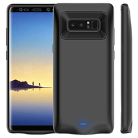 5500 MAh External Battery Charger Case For Samsung Galaxy Note 8 Ultra Slim Thin Backup Power