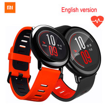 [Английская версия], в наличии, Xiaomi huami Amazfit Pace Спорт Смарт часы Bluetooth 4.0 Wi-Fi Dual Core 1.2 ГГц gps сердечного ритма
