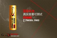High Power GETEED IMR 18650 40A 3000mAh Dynamic Lithium ion Li ion 3.7v 3.6V Rechargeable chargeable Battery for Power source