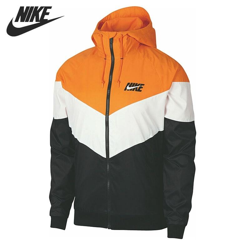 Original New Arrival NIKE WR JKT HD GX QS Men s Jacket Hooded Sportswear