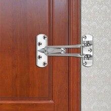 1Pc Heavy Duty Zinc Alloy Safety Guard Security Door Lock Latch For Home  Hotel Door.
