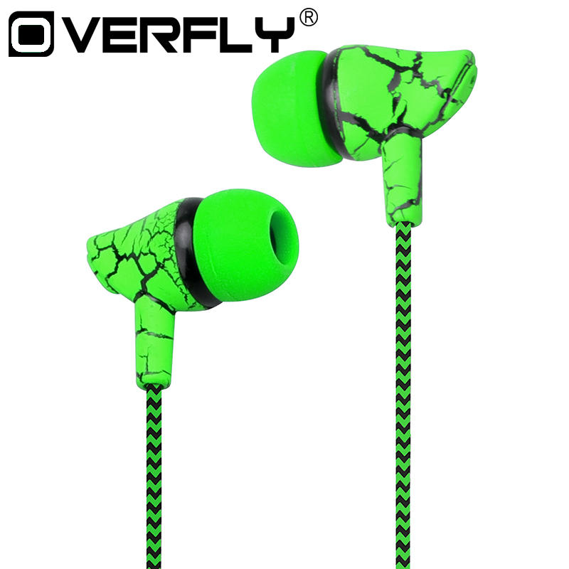 Crack Braided HeadsetS Wired Headphone ws
