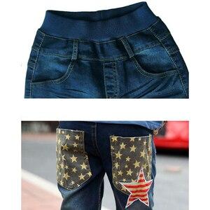 Image 5 - נערי ג ינס ילדי ג ינס 3 11 Y סתיו בגיל ההתבגרות כותנה חורף מכנסי תינוק נערי מכנסיים מזדמנים ג ינס ג ינס האופנה ילדים צפצף