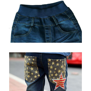 Image 5 - Trẻ em quần jean nam cotton jeans 3 11 Y Mùa Thu teenage Mùa Đông quần denim bé trai casual quần thời trang trẻ em denim quần