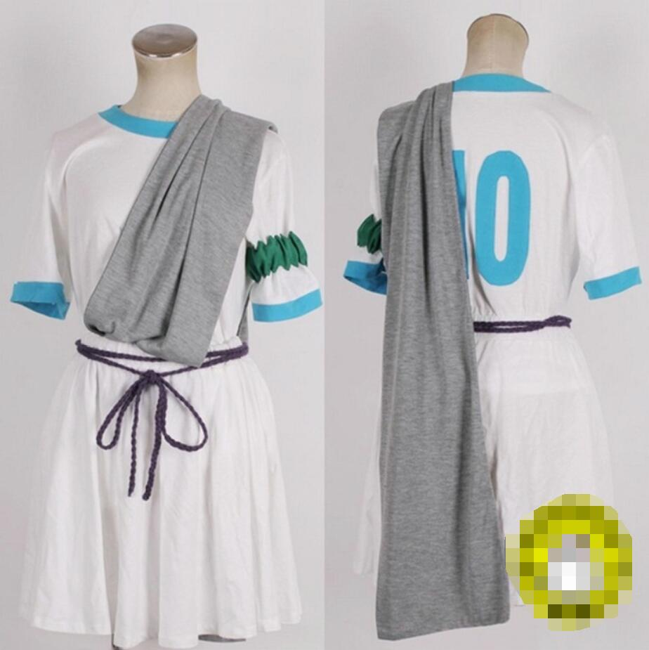Can be tailored Anime Inazuma Eleven cosplay Afuro Terumi uniforms Halloween party Daily sportswear costume dress