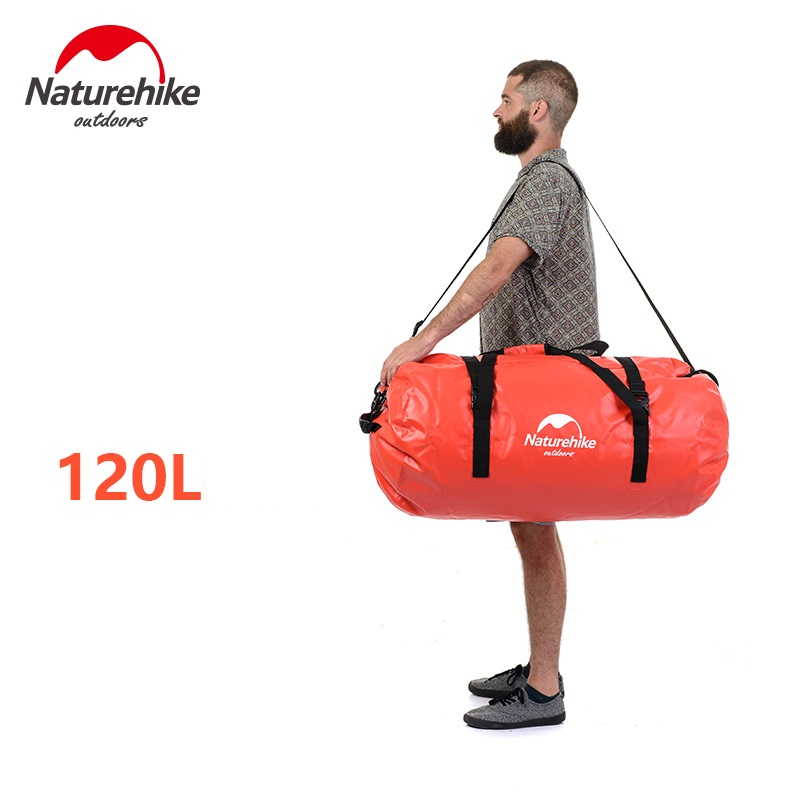 Naturehike factory 40L 60L Waterproof Bag For Beach Rafting Kayaking Phone Cycling Bag Backpack Swimming Bags