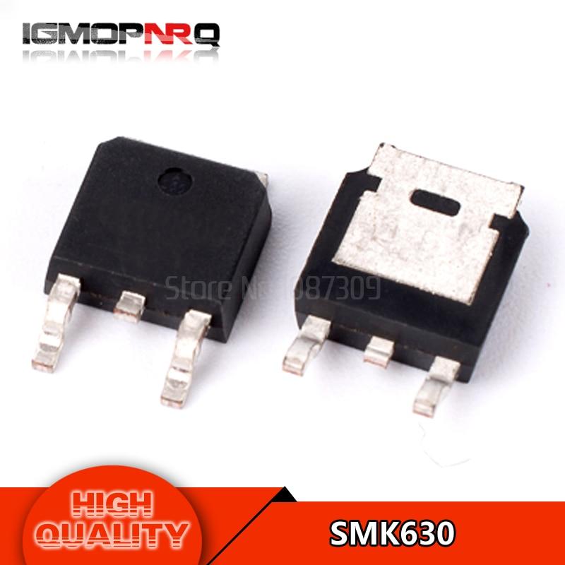 Free shipping 10pcs/lot SMK630 TO-252 LCD backlight MOS tube new original